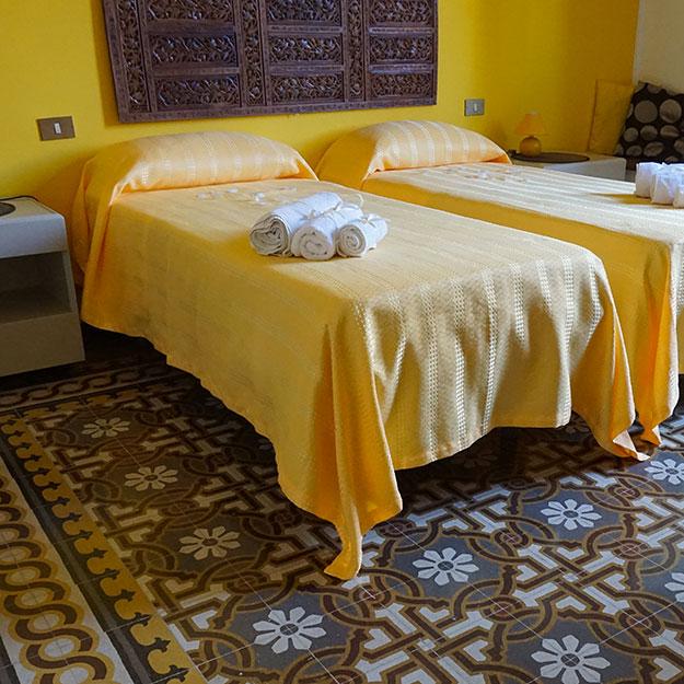 camera matrimoniale o twin la casa dei limoni