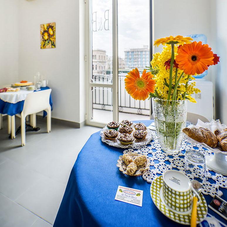 sala colazione la casa dei limoni